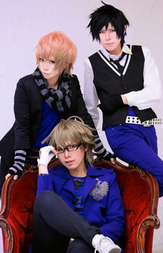 shokichi(小吉) Nagi Mikado, Kira Sumeragi, hachi(hachi) Eiichi Otori Cosplay Photo - WorldCosplay