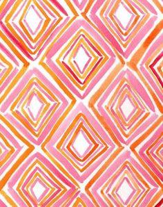 Mustermix Lachsorange und kräftige FrühlingsRose (Farbpassnummer 32 und 17) Kerstin Tomancok / Farb-, Typ-, Stil & Imageberatung