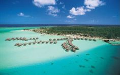 Bora Bora Pearl resort and Spa | Junebug Weddings 25 Most Romantic Honeymoon Locations -- Let an experienced and passionate travel agent help you get at www.travelcenter4u.com
