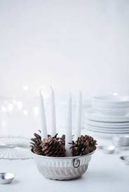 Image result for scandinavian christmas table decorations