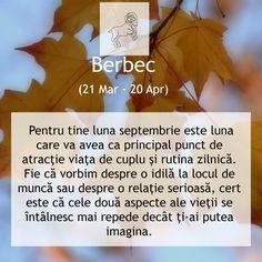 #Horoscop Berbec #Septembrie2014 Frases, Astrology