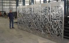 Resultado de imagen para metal perforado laser