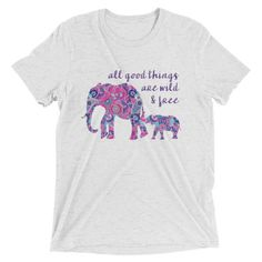 A personal favorite from my Etsy shop https://www.etsy.com/listing/538474800/all-good-things-short-sleeve-t-shirt