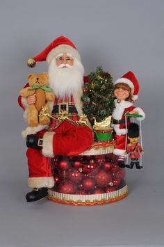 Karen Didion Originals the Lighted Merry Christmas Train Santa Signature 2018 813936023766 Decorating With Christmas Lights, Christmas Decorations, Holiday Decor, Old World Christmas Ornaments, Merry Christmas, Santa Figurines, Christmas Train, Christmas Pictures, Christmas Traditions