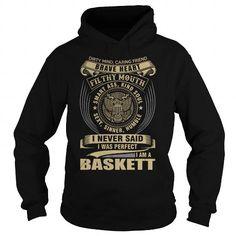 I Love BASKETT T shirts