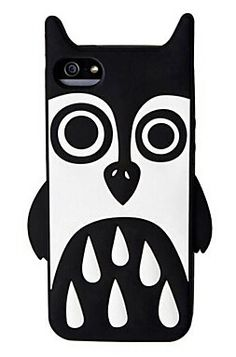 Cartoon Animals Pattern Silicon Case for iPhone5/5S