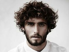 Curly hairstyles for men just keep getting cooler. Medium or long hair on top is becoming more common, and so is fringe falling down over the forehead. These are frequently paired with fades or undercuts to keep hair clean cut and easy to manage.