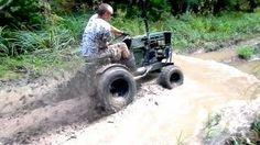 Off Road Lawn Mower Jamboree Pt.3 Deep Mud Run - YouTube