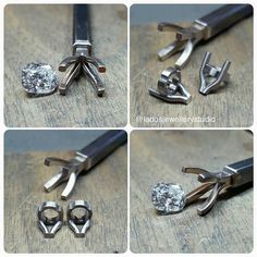 More settings for the RBC side stones #handmade #jewellery #setting #ring #workinprogress #jewellerymaking #instajewellery…