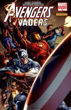 Avengers/Invaders # 12 (Variant) by Dale Eaglesham