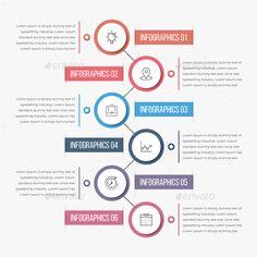 #Modern Circle Infographics - #Infographics