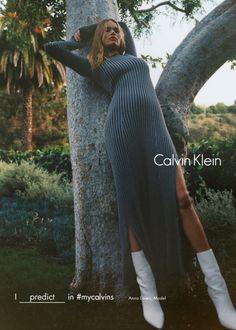Anna Ewers / Calvin Klein FW 16.17 Campaign