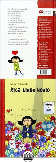 Rita tiene novio (El mundo de Rita) Mikel Valverde Tejedor ✿ Libros infantiles y juveniles - (De 6 a 9 años) ✿ ▬► Ver oferta: http://comprar.io/goto/8479424990