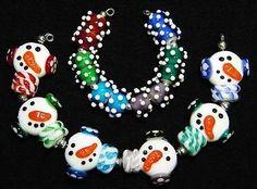*AMR* Frosties Lampwork Beads SRA