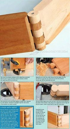 Cutting Wood Hinge Joint - Joinery Tips, Jigs and Techniques   WoodArchivist.com