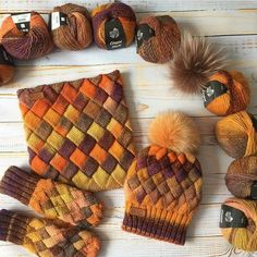 Knitting Yarn Diy, Baby Knitting Patterns, Knitting Designs, Knitted Hats, Crochet Hats, Knit Crochet, Crochet Coaster Pattern, Knitting Accessories, Crochet Projects