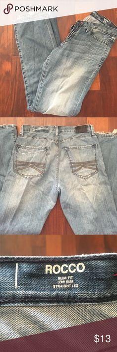 👖Men's Express Rocco jeans 👖 👖Men's Express Rocco jeans 👖32x34 men's Express jeans - gently worn. Slim straight fit Express Jeans Slim Straight