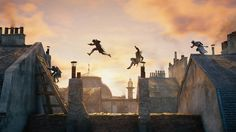 Assassin's Creed Unity Wallpapers) – Funny Pictures Crazy Parkour, Era Edo, Character Inspiration, Character Art, Valhalla, Arno Dorian, Assassins Creed Unity, Assassin's Creed, Fantasy Landscape