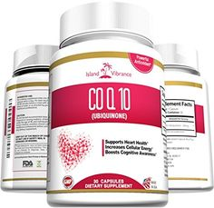 CoQ10 Ubiquinone High Absorption Supplement - 200mg Capsules - Potent Antioxidant Coenzyme Q10 Supports Healthy Heart and Cardiovascular System - Boost Cellular Energy Levels - 30 Gel Caps - Made in USA Island Vibrance http://www.amazon.com/dp/B00X4ZGPKM/ref=cm_sw_r_pi_dp_hfk5wb0KWJP4M