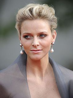 Princess Charlene Lynette Wittstock (1978-living2013) South Africa wife of King Albert II (Albert Alexandre Louis Pierre Grimaldi) (1958-living2013) Monaco.