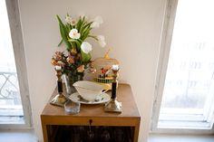 In Rebecca Lamarche-Vadel's Apartment  Curator and art critic, Apartment, Berlin-Mitte