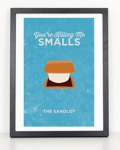The Sandlot - You're Killing Me Smalls Poster 11x17 Print Printed on 80lb high quality glossy photo paper Frame not included Colors vary monitor to monitor Shipped in durable cardboard poster tube Please allow 1-2 weeks for delivery.