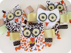 Cute owl taggies for baby
