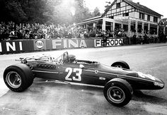 #23 Jacky Ickx...Scuderia Ferrari SpA SEFAC...Ferrari 312...Motor Ferrari 242 V12 3.0...GP Bélgica 1968