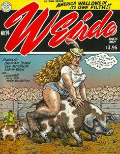 Weirdo R. Crumb and Others - Last Gasp Comix… Robert Crumb, Fritz The Cat, Art Bin, Alternative Comics, Conceptual Art, Comic Artist, Cover Art, Illustrators, Book Art