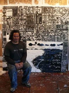 John Pule, Artist Tapas, Polynesian Art, Art Spaces, New Zealand Art, Maori Art, Dream Art, Decking, Moana, Best Artist