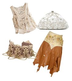 """#8"" by marzenakedra ❤ liked on Polyvore featuring Jessica Simpson and Santi"