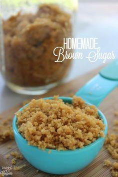 Homemade Brown Sugar (2-Ingredients)
