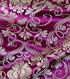 Cosplay by Yaya Han Royal Brocade Fuchsia Gold Fabric