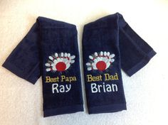 Bowling Personalized Bowling towels any by LindaKaysCreations