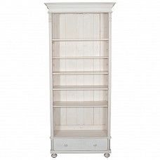 Painted bookcase with lower drawer - Trade Secret