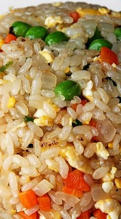 Easy Vegetable Fried Rice Recipe ❊ - Recipes to Cook - Rice Recipes Seasoned Rice Recipes, Easy Rice Recipes, Side Dish Recipes, Asian Recipes, Chinese Recipes, Chinese Vegetables, Fried Vegetables, Veggies, Vegetable Fried Rice