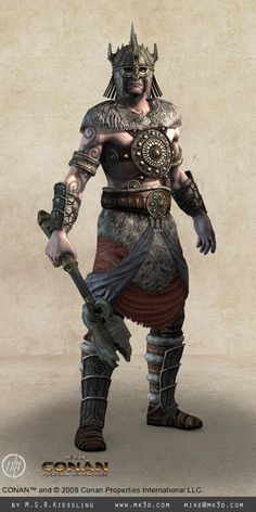 Concept Art | age of conan armors in depth a few of the armors i made for age of ...