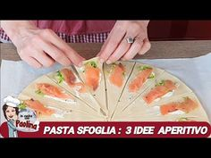 PASTA SFOGLIA... 3 IDEE APERITIVO - in cucina con Paolina - YouTube Pastry Dishes, Turkish Recipes, Ethnic Recipes, Appetizer Recipes, Appetizers, Snacking, Party Snacks, Kitchen Recipes, Food And Drink
