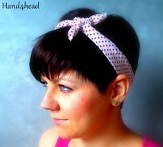 Pin up, pin-up style, headband