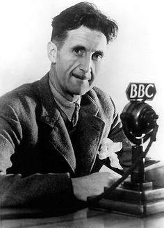 "George Orwell is mostly known for his adventures abroad, but his ""Englishness"" is undeniable. Image: George Orwell in BBC Public Domain via Wikimedia Commons. George Orwell, Freedom Of The Press, Roman, Essayist, Writers And Poets, Science Fiction, Famous People, Book Authors, Georgia"