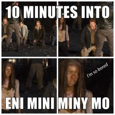 The Walking Dead funny meme Walking Dead Tv Series, Fear The Walking Dead, Walking Dead Zombies, Z Nation, Twd Memes, Funny Memes, Hilarious, Walking Dead Funny Meme, Dead Inside