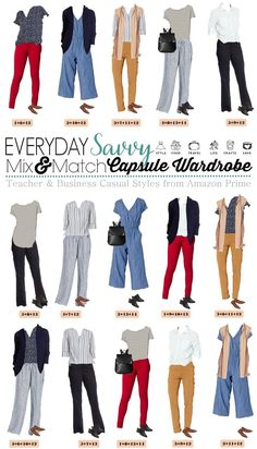 Cute Teacher Outfits & Business Casual Work Outfits