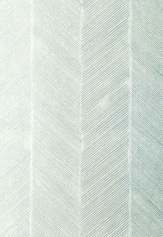 Pale Colorway, New and Unique for an Entry Hall... Chevron Texture Schumacher Wallcovering