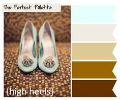 The Perfect Palette: {The Perfect Palette}: 10 Palette Inspiring Centerpieces