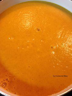 Receta puré de calabaza y zanahoria especiado