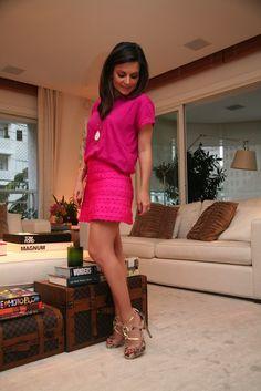 Sophia Alckmin com sandália CS