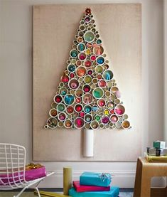 PVC pipe wall tree