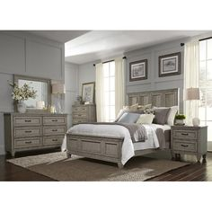 Found it at Wayfair - Grace Panel Customizable Bedroom Set
