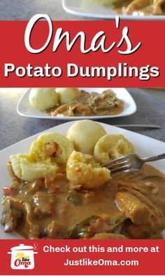 ❤️German Potato Dumplings made just like Oma! Try making this scrumptious recipe! A truly yummy treat! ❤️German Potato Dumplings made just like Oma! Try making this scrumptious recipe! A truly yummy treat! Homemade Dumplings, Dumpling Recipe, Potatoe Dumplings, Easy German Recipes, Italian Recipes, Croatian Recipes, Hungarian Recipes, Vegetable Recipes, Beef Recipes