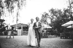 Tim and Amy's rustic wedding at Collingwood Children's Farm was a day filled with love and laughter